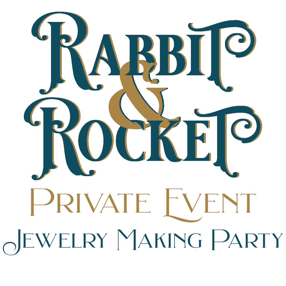 Rabbit and Rocket Private Event Jewelry Making Party