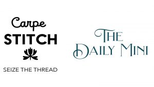 Title graphic for today's Daily Stitch features the words Carpe Stitch, seize the thread.
